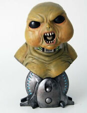 """BBC TV Cult Sci Fi DR WHO 8"""" SLITHEEN Creature bust statue figure, boxed & new"""
