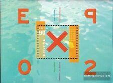 Suisse Bloc 32 (complète edition) neuf avec gomme originale 2002 expo´02