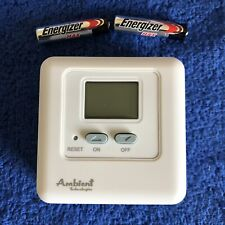 AMBIENT TECHNOLOGIES WMTD-TX AMBIENT TECHNOLOGIES FIREPLACE REMOTE CONTROL