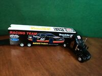 CALE YARBOROUGH TROP ARTIC PHILLIPS 66 1:64 DIE CAST NASCAR TRUCK TRANSPORTER