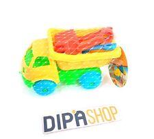 Mini Camion Mare Sabbia Spiaggia Palette Formine Giocattolo Bambino Bimbo moc