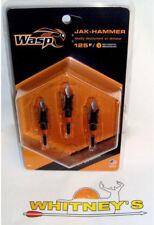 Wasp Archery Jak Hammer 125 gr Expandable Broadheads #4903