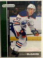 2015-16 Connor McDavid Rookie Upper Deck Parkhurst Rookies Edmonton Oilers #PR-1