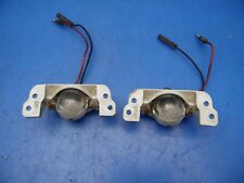 90-93 Acura Integra OEM licence plate lights lamps & socket STOCK factory x2 ***
