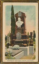 POSTCARD   SOUTH  AFRICA    PRETORIA    President  Kruger's  Grave