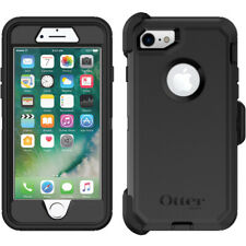 GENUINE OTTERBOX IPHONE 8 & 7 DEFENDER SHOCKPROOF CASE COVER BLACK