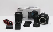 Canon EOS 80D 24.2MP DSLR Camera w/ 18-135MM IS USM Lens Kit ISSUE