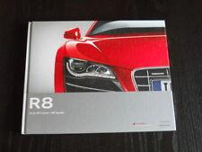 AUDI R8 coupé spider brochure catalogue luxe - édition 2011 - german text