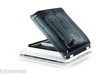 FIAMMA ROOF LIGHT CRYSTAL VENT 40cm X 40 MOTORHOME CAMPERVAN WITH FLYSCREEN NET