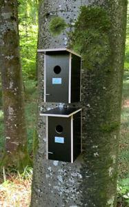 2 x Nistkasten Vogelhaus preiswert für Meisen Spatzen Sperlinge Vogel  016.004