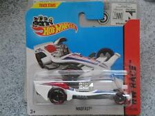 Hot Wheels 2014 #152/250 MADFAST white HW RACE