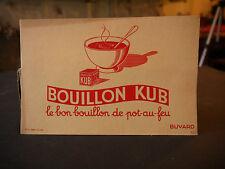 BUVARD: BOUILLON KUB LE BON BOUILLON DE POT-AU-FEU