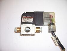 SMC SELENOID VALVE EVT307 - 3DO - 02F- Q  110 V AC ***