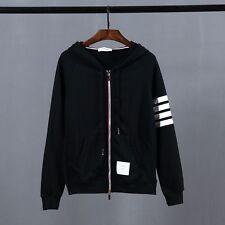 Thom Browne Black Zip-up Hoodie  Size3(L)
