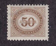 Austria Sc J9 MNH. 1894 50kr Postage Due perf 11½, Partial Watermark, VF