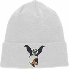 Kungfu Panda Beanie, Dragon Warrior & Furious Five Hat, Embroidered Design