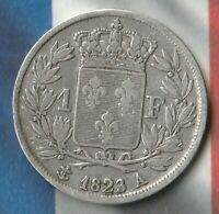 1823 France 1 Franc- 90% AG- Only 360,000 Minted- In Pretty Good Shape