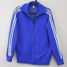 VTG Adidas Mens 1980s Schwahn Made In West Germany Track Full Zip Jacket G268