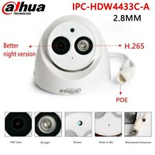 Dahua  IPC-HDW4433C-A 2.8MM 4MP POE H.265 Bulit-MIC IR CCTV IP Security Camera