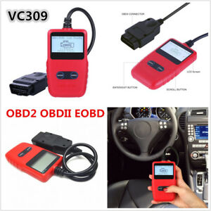 Car Fault Code Reader Engine Scanner CAN BUS OBD2 II EOBD Diagnostic Scan Tool