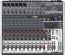 Behringer XENYX X1832USB Mint 18-Channel Live Sound Mixer Board USB & Effects