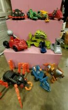Masters of the Universe Vehicle Lot Spydor Roton Bashasaurus Dragon Walker Laser