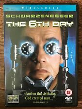 Arnold Schwarzenegger THE 6th Día ~ 2000 Clonación / CLONE Sci-Fi Acción GB DVD