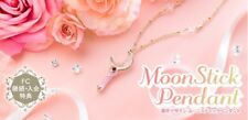 Sailor Moon 2017 Fan Club Moon Stick Pendant Wand Necklace Limited