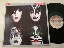 KISS Dynasty MEGARARE New Zealand Pressing Vinyle 1979 LP