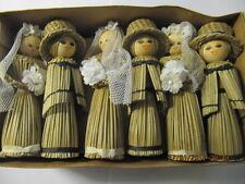 3 x Braurpaar-Puppen