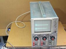 Tektronix 5112 Dual Beam Oscilloscope With 2- 5A19N Differential Ampl  And 5B10N