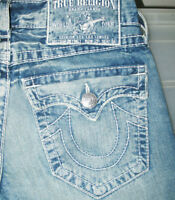*HOT Men's TRUE RELIGION @ JOEY BIG T FLARED BOOTCUT Jeans 29 x 34 (Fit 30 x 33)