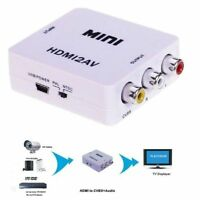 For HDTV  Composite 1080P HDMI to RCA Audio Video AV CVBS Adapter Converter
