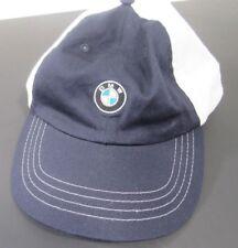 BMW USA Olympic Proud Partner Hat Adjustable White Blue NWOT Never Worn