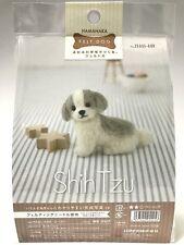 Needle Felting Kit Dog Japan Wool Felt Craft Shih Tzu Hamanaka Free Shipping