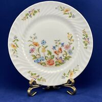 """AYNSLEY COTTAGE GARDEN SALAD PLATE 8.25"""" FINE BONE CHINA MADE IN ENGLAND"""