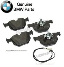 NEW BMW 330i 330xi 335d 335i 335xi Rear Brake Pad Set with Sensor Genuine
