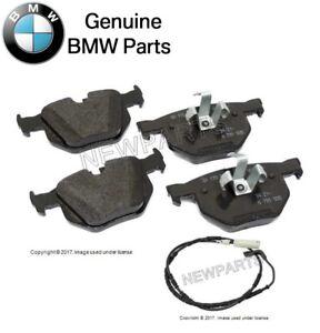 For BMW 330i 330xi 335d 335i 335xi Rear Brake Pad Set w/ Sensor Genuine