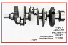 CRANKSHAFT W/ BEARINGS Fits: 85-95 CHEVROLET 262 4.3L V6 TRUCK S10 BLAZER ASTRO