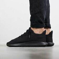 SCARPE ADIDAS ORIGINALS TUBULAR SHADOW UOMO DONNA UNISEX TOTAL BLACK NERO CG4562