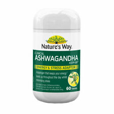 Nature's Way Clinical Ashwagandha 60 Tablets