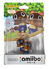 Animal Crossing Collection Timmy & Tommy Nintendo Amiibo Ex Japanese Release