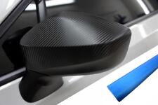 PREMIUM ESPEJO Carcasas Tapa Diseño lámina aluminio Azul Para Muchos vehículos