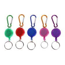Fly Fishing Tool Zinger Retractor Retractable Reel Holder Key Chain Nylon Cord