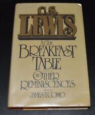 CS Lewis at the Breakfast Table and Other Reminiscences * James T Como 1st Print