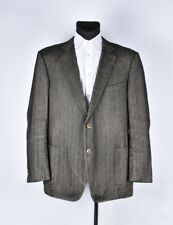 Suit Supply Herringbone Men Jacket Blazer Size EUR-60,UK-50