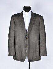 SUIT Supply a spina di pesce uomo blazer giacca taglia eur-60, uk-50
