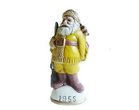 "Memories of Santa Collection Circa 1955 ""Davy Crockett Santa"" New In Box Collect"