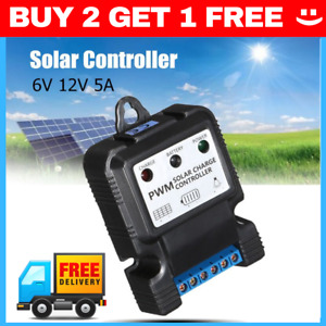 SMALL MINI 6V 12V 3A Auto Solar Panel Charge Controller Battery Charger