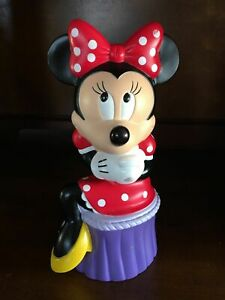 Vintage DISNEY MINNIE MOUSE Coin Bank BRAND NEW ITEM by Applause Co.